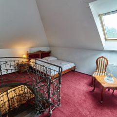 Apartament dla 4 osób - dla Pary Młodej GRATIS! Widok: poziom górny