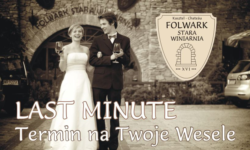 Terminy Last Minute na wesele