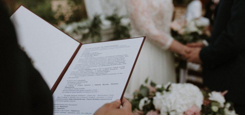 Ślub cywilny Folwark Stara Winiarnia Mszana Dolna