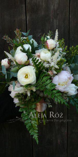 Aleja Róż dekoracja kwiatowa