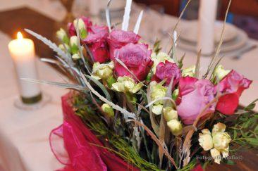 Dekoracja kwiatowa florystyka ślub wesele Targi Ślubne