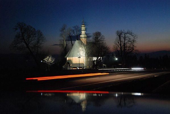 Kościół Świętego Krzyża Obidowa Rdzawka ślub wesele