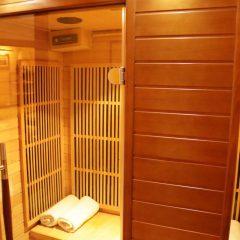 Strefa Relaksu Folwark Stara Winiarnia Mszana Dolna sauna infrared