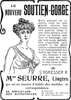 """""""soutien-gorge"""", czyli """"podtrzymywacz piersi"""""""