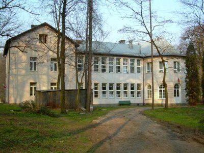 dwór Mszana Dolna Krasińscy
