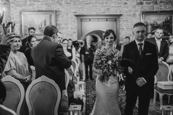 Anna i Krzysztof Ślub cywilny w Folwarku